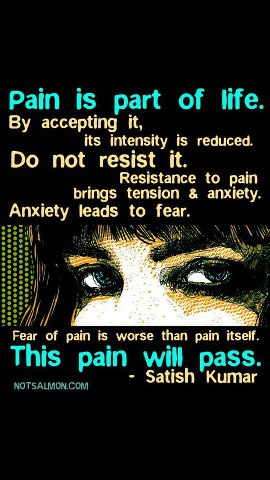 47 Relax and Succeed - Pain is part of life