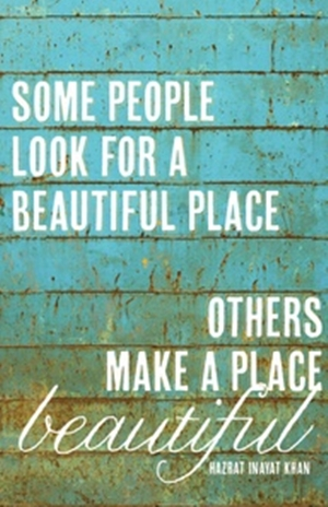 61 Relax and Succeed - Some people look for a beautiful place