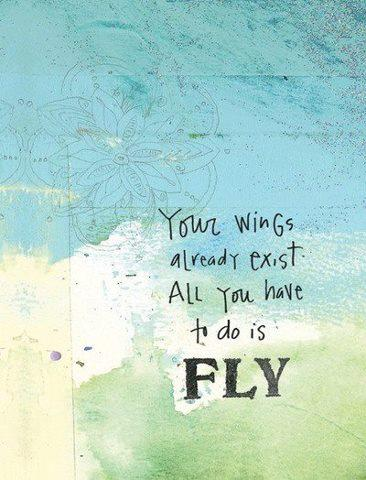 79 Relax and Succeed - Your wings already exist