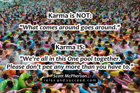 82a Relax and Succeed - Karma is NOT