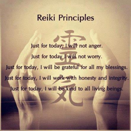 96 Relax and Succeed - Reiki Principles