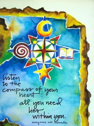 121 Relax and Succeed - Listen to the compass of your heart