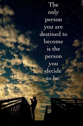 154 Relax and Succeed - The only person you are destined