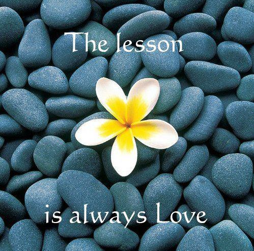 255 Relax and Succeed - The lesson is always love