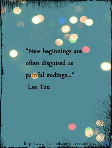 255 Relax and Suceed - New beginnings are often disguised