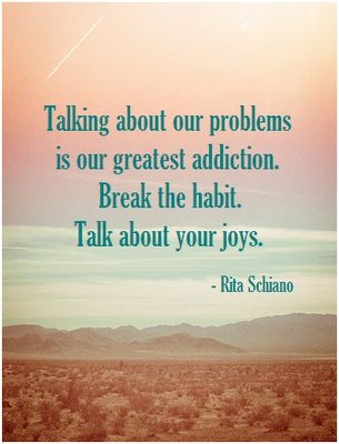 264 Relax and Succeed - Talking about our problems