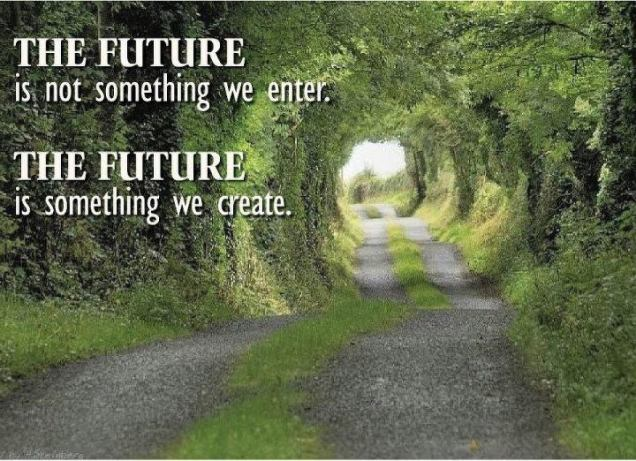 271 Relax and Succeed - The future is not something