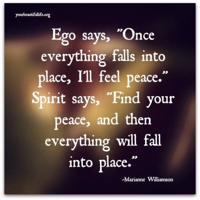 290 Relax and Succeed - Ego says Once everytyhing falls into place