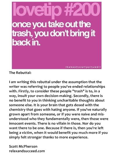 13 11 23 Relax and Succeed Rebuttal - Lovetip #200
