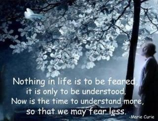353 Relax and Succeed - Nothing in life is to be feared