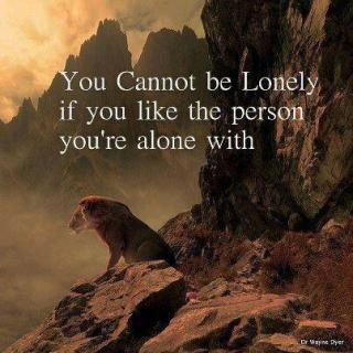 364 Relax and Succeed - you cannot be lonely