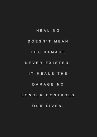 393 Relax and Succeed - Healing doesn't meanthe damage never existed