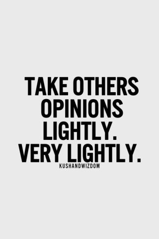 439 Relax and Succeed - Take others opinions lightly