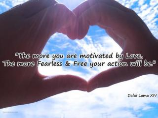 464 Relax and Succeed - The more you are motivated by love
