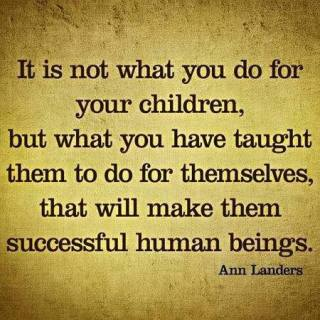 481 Relax and Succeed - It is not what you do for your children