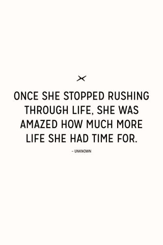 48 Relax and Succeed - Once she stopped rushing