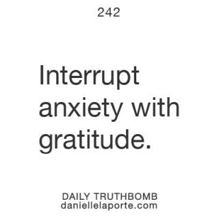 507 Relax and Succeed - Interrupt anxiety with gratitude