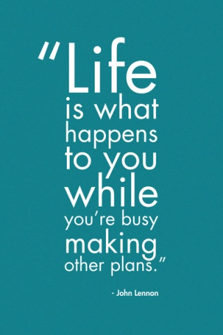 536 Relax and Succeed - Life is what happens
