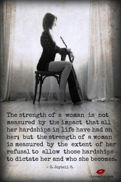 736 OP Relax and Succeed - The strength of a woman