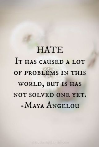 753 Relax and Succeed - Hate has caused a lot of problems