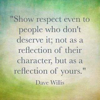 764 Relax and Succeed - Show respect even to people who don't deserve it