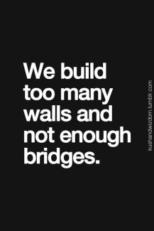 818 Relax and Succeed - We build too many walls