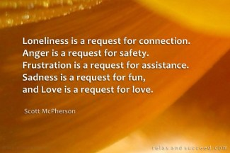 819 Relax and Succeed - loneliness is a request