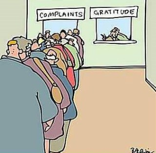 824 Relax and Succeed - Complaints gratitude