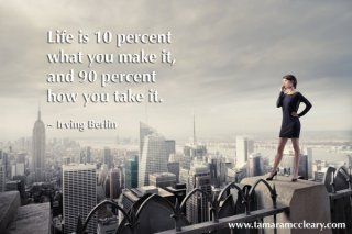 857 Relax and Succeed - Life is 10 percent what you make