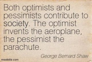 876 Relax and Succeed - Both optimists and pessimists contribute