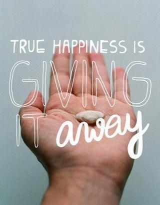 885 FD Relax and Succeed - True happiness is giving