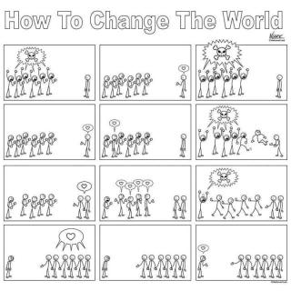 906 Relax and Succeed - How to change the world