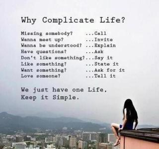 921 Relax and Succeed - Why complicate life