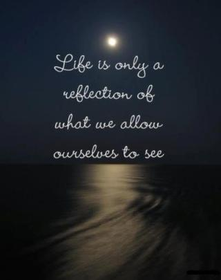 922 Relax and Succeed - Life is only a reflection