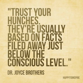 926 Relax and Succeed - Trust your hunches